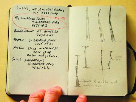 Cuaderno primeras ideas