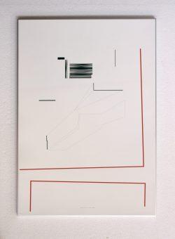 Anto Rabzas / Serie 03 / Tendiendo hilos 01 impresión glicee. 50x70 cm