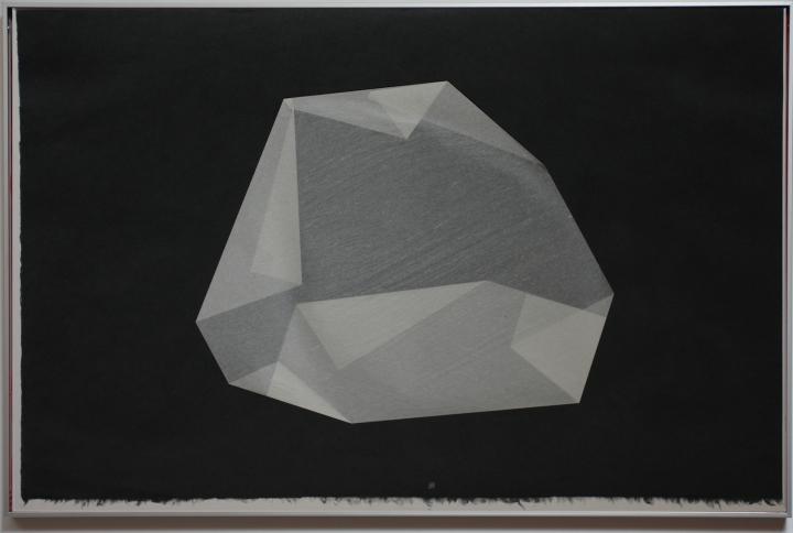 Marco montaje apaisado pliegue negro 1b