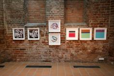 Jorge Varas, Antonio Rabazas Romero, Jo Kuhn en Centrum Sztuki Galeria EL.